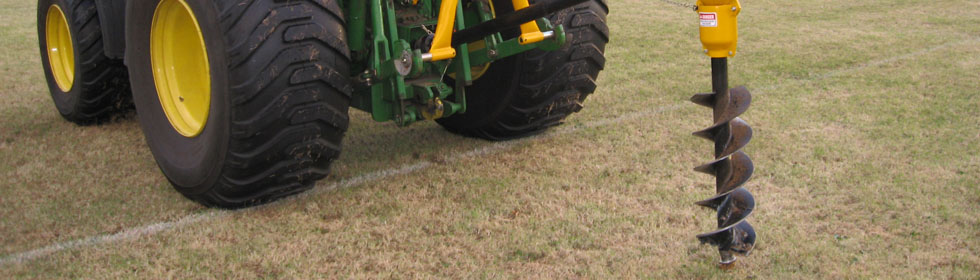 Professional grounds maintenance equipment